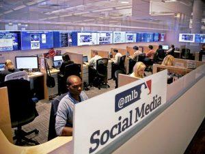 MLB Social Media