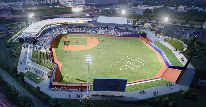 University of Kentucky Baseball field