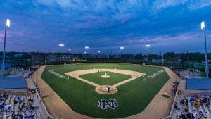 Notre Dame baseball diamond
