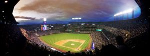 A stadium view